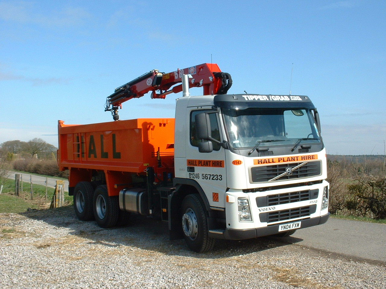8 Wheel Tipper (C/W Grab)