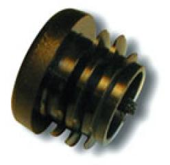 Black end plug for CarbonX/IXL