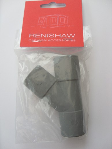 28mm Push Fit Y Connector