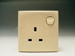 13A Switched Socket Baige