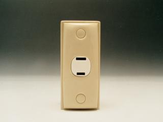 Beige Architrave 12v Socket