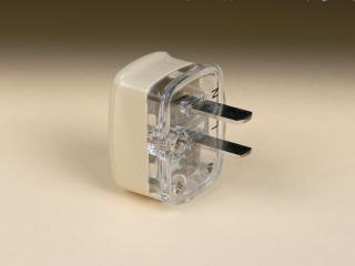 CLIPSAL 2 PIN PLUG BEIGE