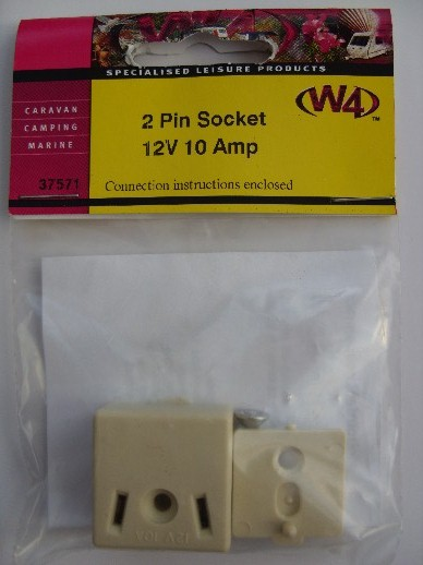 2 Pin Socket
