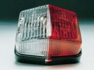 CLEAR /RED MARKER LAMP