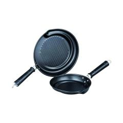 Quest 2 Piece Non Stick Griddle Pan Set