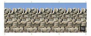 OlPro Stone Wall Windbreak
