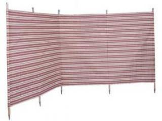 Blue Diamond Windbreak 5 pole Canvas Burgundy