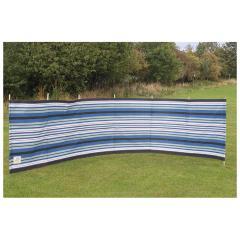 Blue Diamond Striped 7 Pole Windbreak