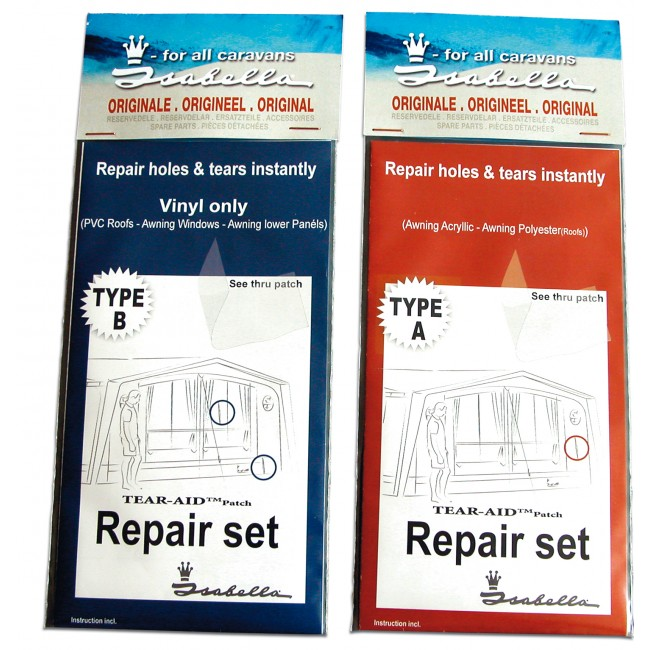Isabella Vinyl Tear-Aid Repair Set B (900060323)