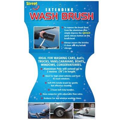 Streetwize Extending Car Wash Brush